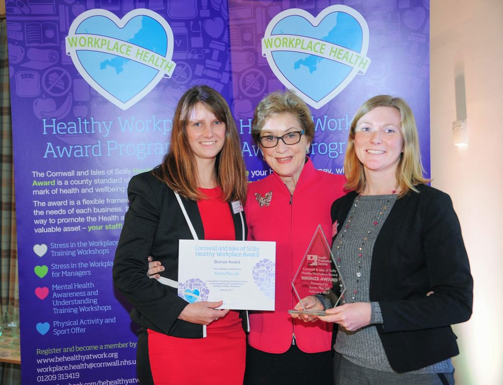 Forms Plus win Bronze Healthy Workplace Award